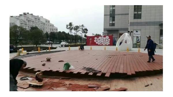 广受欢迎的塑木地板在幼儿园装修时如何检修